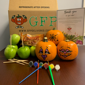 Pumpkin Painting & Caramel Apple Kit