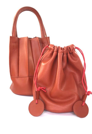 Rust bucket bag