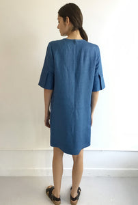 Textured Linen Glory Dress