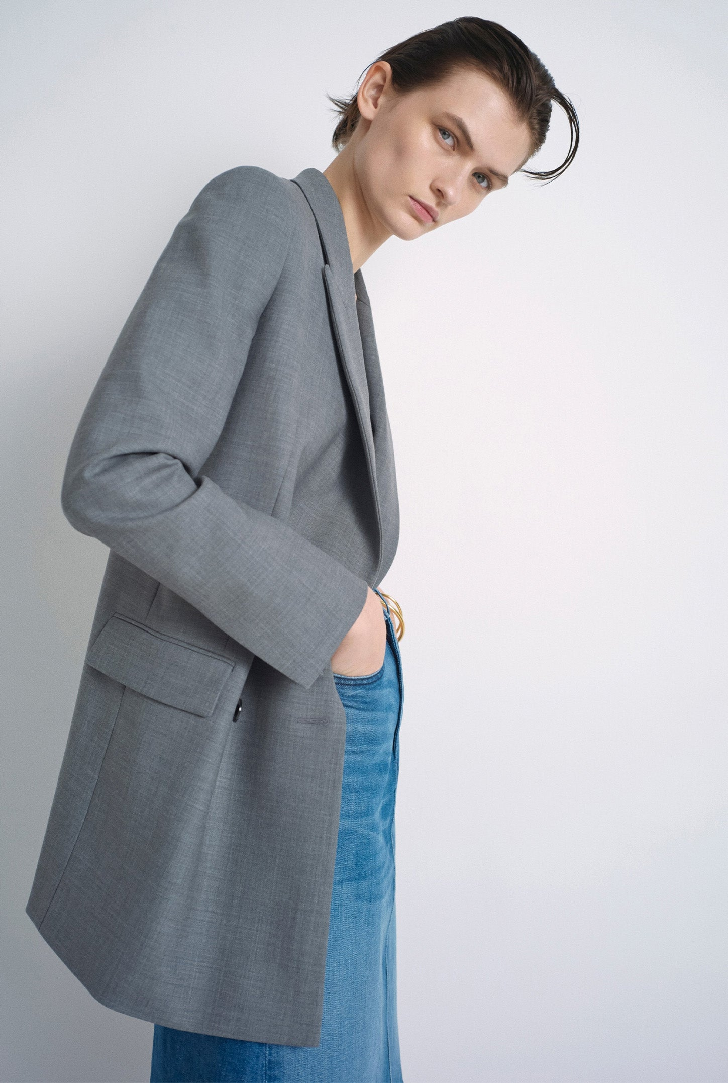 Grey Lennox Jacket