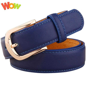 Fashion Women Belts Luxury Genuine Leather