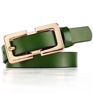 Soft Genuine Leather Belts