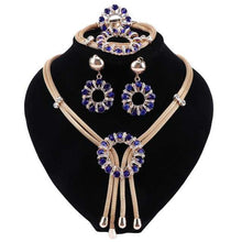 Load image into Gallery viewer, Pendant Necklace Earrings Bracelet Ring Sets For Women