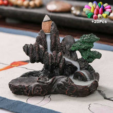 Load image into Gallery viewer, Buddha Incense Holder Aromatherapy Censer +20 Incense Cone