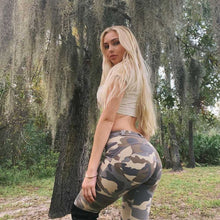Load image into Gallery viewer, Camo Leggings Women Summer