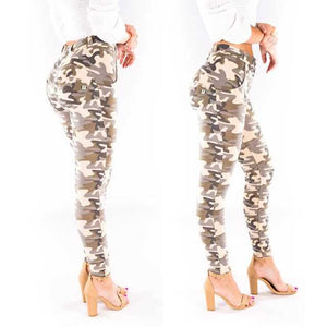 Camo Leggings Women Summer