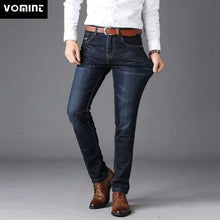 Load image into Gallery viewer, Men Jeans Straight pants High Quality Hot Sale Plus Size 40 (No Belt)