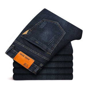 Men Jeans Straight pants High Quality Hot Sale Plus Size 40 (No Belt)