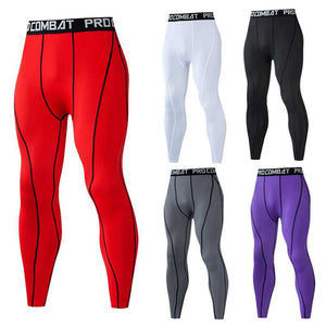 Tight Leggings Running Sports Male Gym Fitness Jogging Pants Quick dry