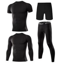 Load image into Gallery viewer, 4 Pcs Outdoor Jogging Sport Suits Casual Sportswear
