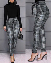Load image into Gallery viewer, Women Skinny Casual Pencil Pants