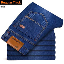 Load image into Gallery viewer, Men's Fashion Jeans Casual Stretch Slim Trouser