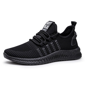 Men Casual Shoes Breathable Male Footwear Lace Up Walking Shoe
