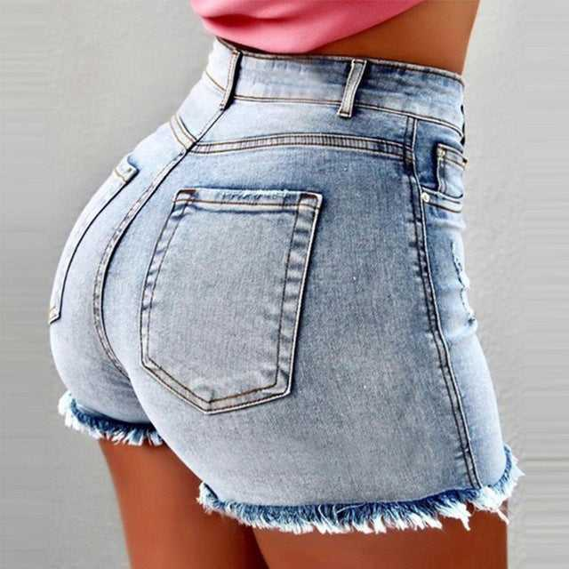Shorts jeans woman summer bodycon
