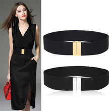 Load image into Gallery viewer, Women's waistbands elastic wide belt