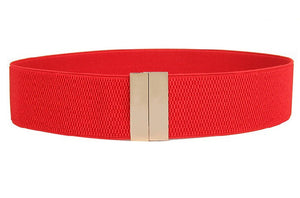 Women's waistbands elastic wide belt