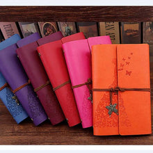 Load image into Gallery viewer, Travelers Vintage Literature PU A6 A5 Leather