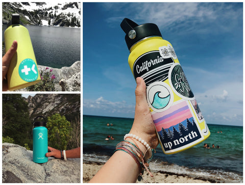 get back necklaces- reusable water bottles
