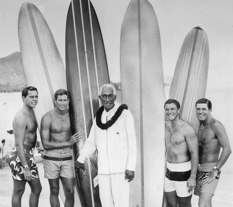 Duke Kahanamoku- St Christopher Surf Necklaces