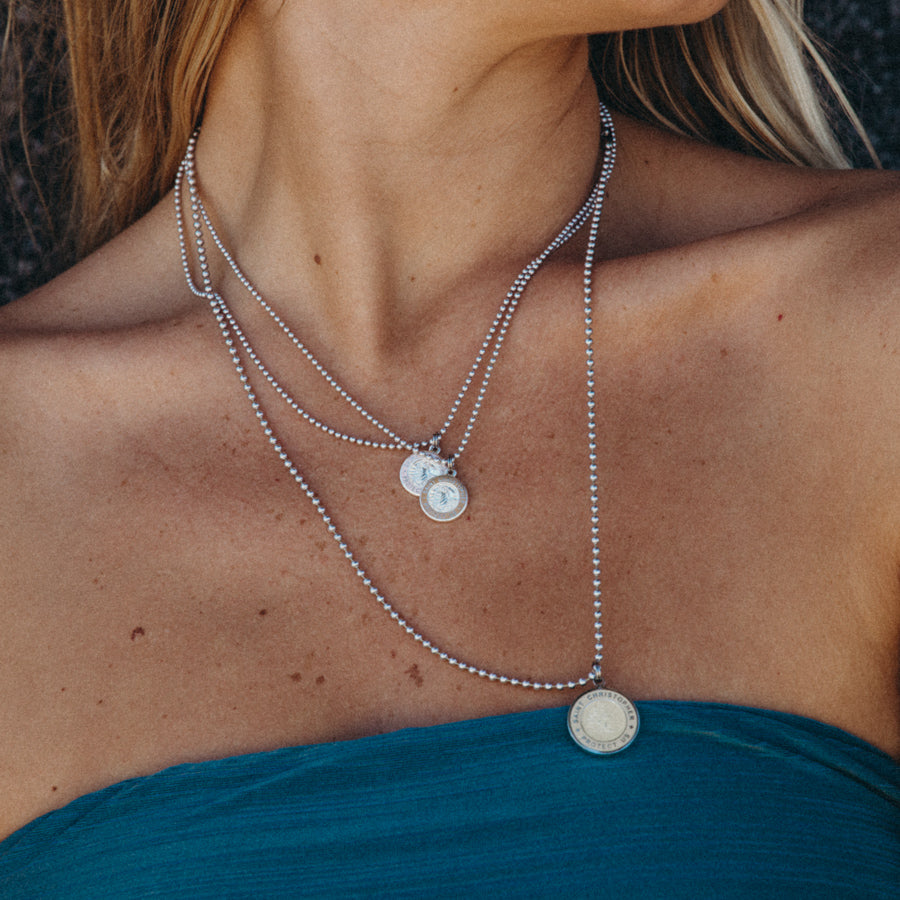 dainty necklaces St. Christopher Necklaces in Small & Medium