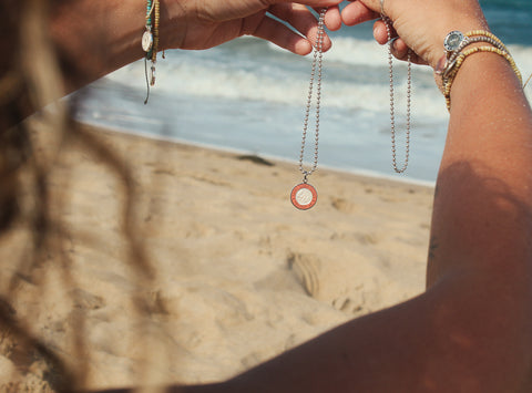 Saint Christopher Surf Necklace
