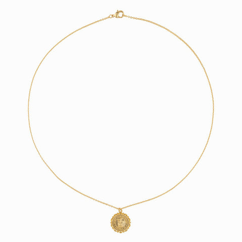 Gold St. Christopher Necklace