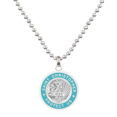 blue necklace for teen girls
