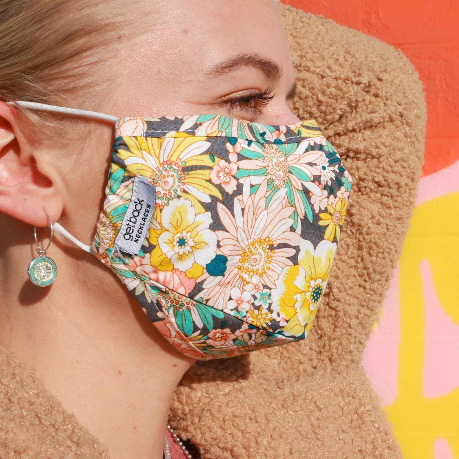 Flower Power Face Mask