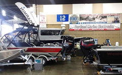 Portland Marine Electronics at the 2016 Washington Sportsmen's show in Puyallup