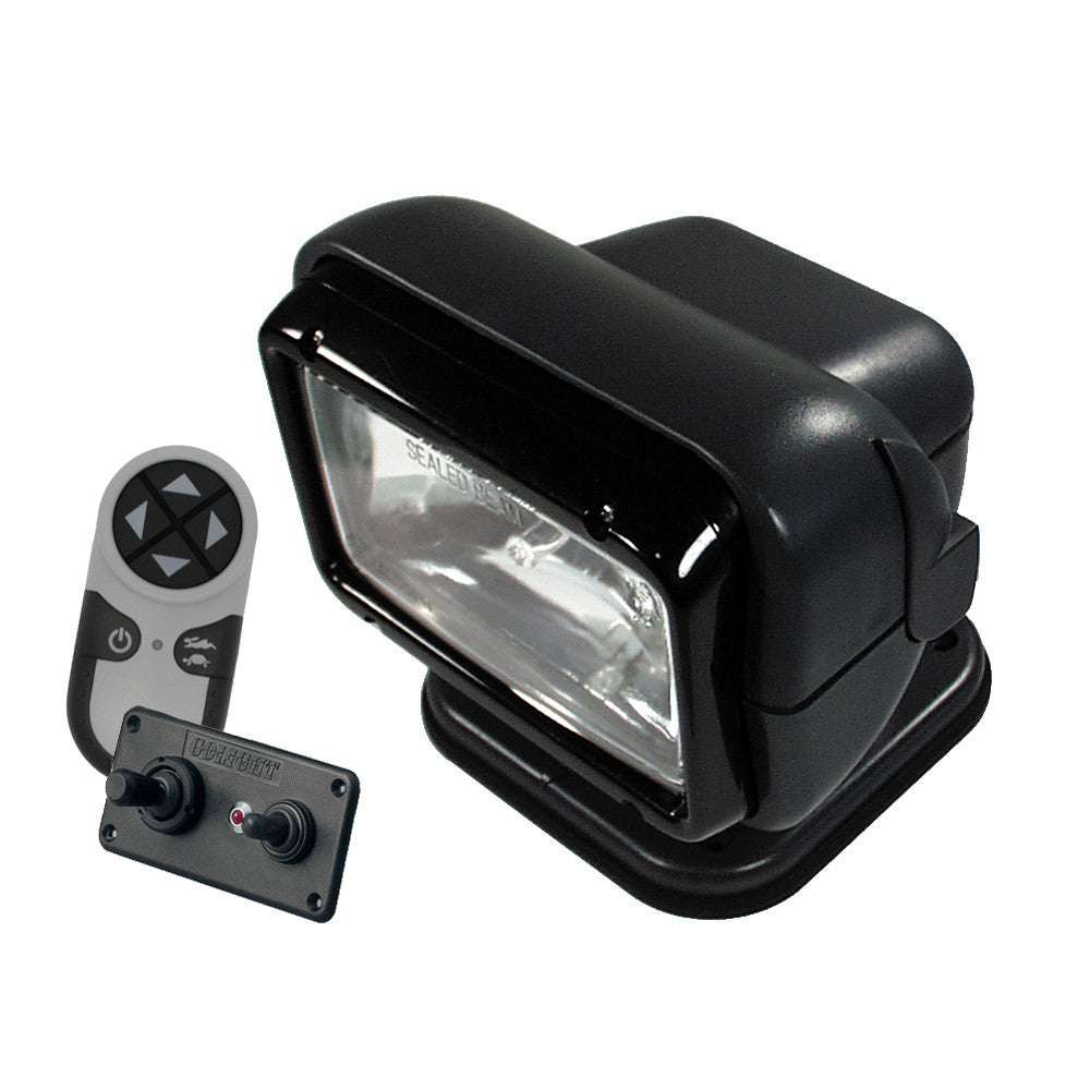 Golight 12V Permanent Mount RadioRay Combination - Black