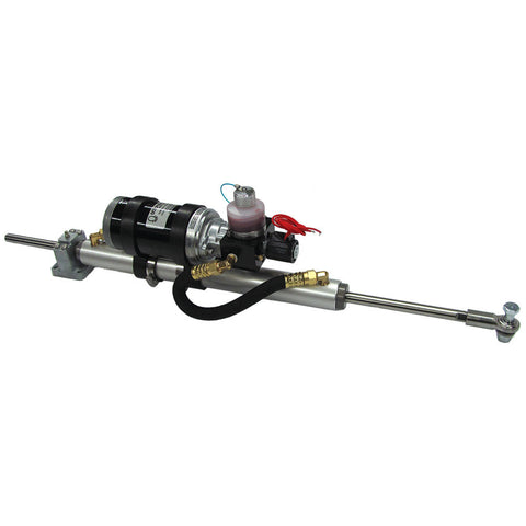 "Octopus 12"" Stroke Mounted 38mm Linear Drive 12V - Up To 60' or 33,000lbs"