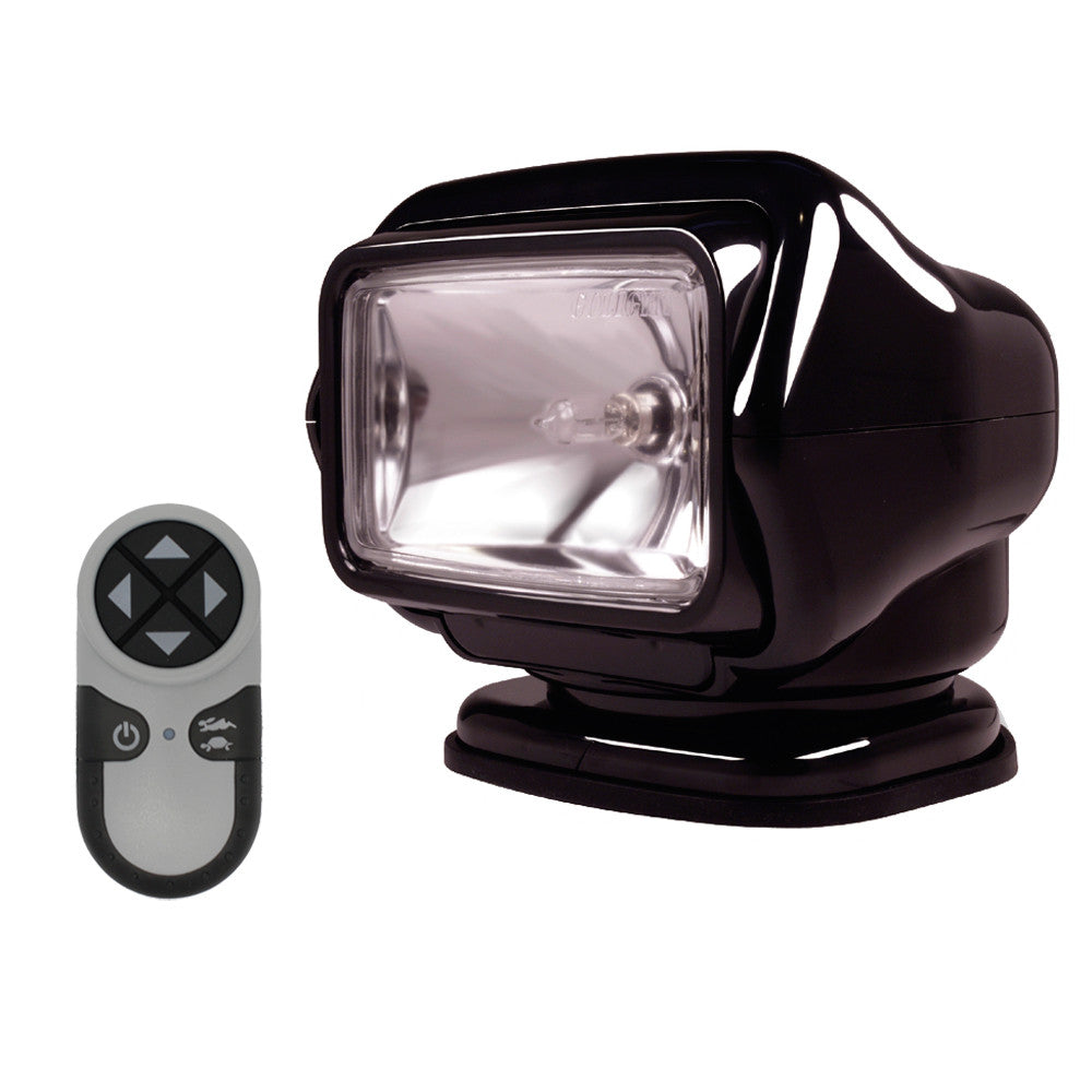 Golight Stryker Searchlight w/Wireless Handheld Remote - Magnetic Base - Black