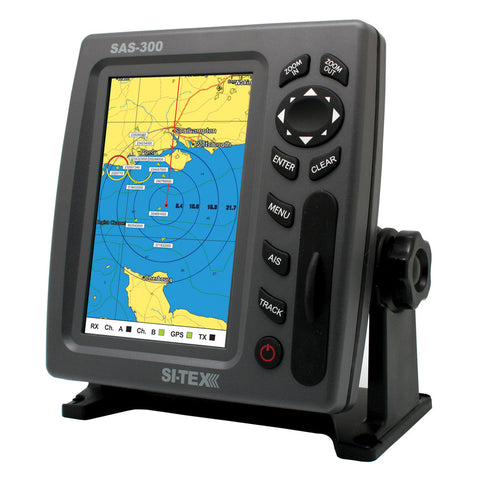 SI-TEX SAS-300 AIS Class B AIS Transceiver w/Internal GPS Antenna