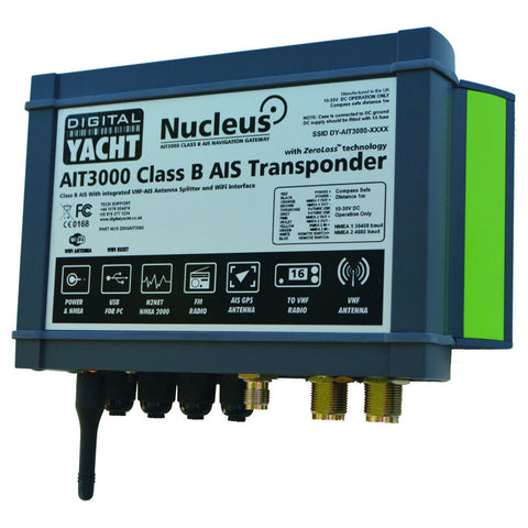 Digital Yacht AIT3000 Nucleus Class B AIS Transponder
