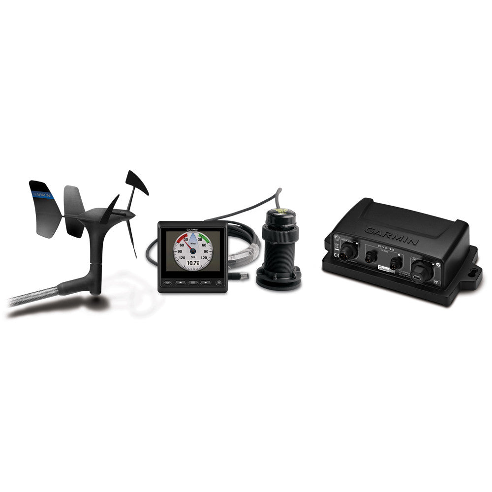 Garmin Wind, Depth & Speed Bundle w/gWind™ Transducer, GMI™ 20, GND 10 & DST800