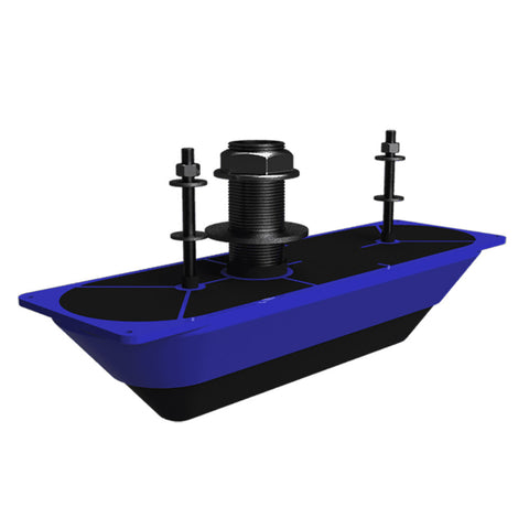 Navico StructureScan 3D® Stainless Steel Thru-Hull Transducer - Single