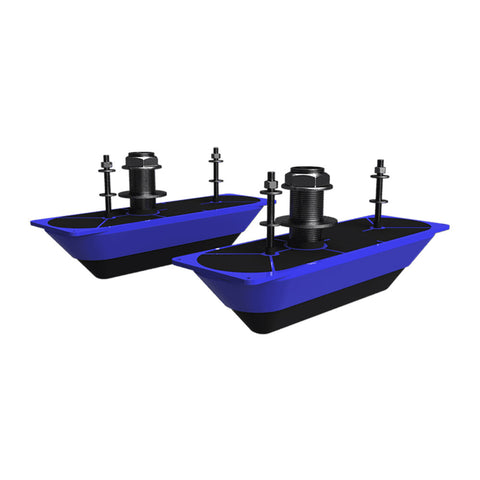 Navico StructureScan 3D® Stainless Steel Thru-Hull Transducer - Pair