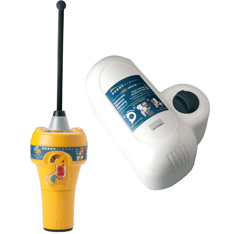 Ocean Signal SafeSea E100 EPIRB - Cat1 w/Auto-Release Housing