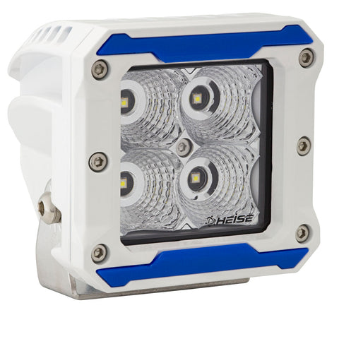 HEISE 4 LED Marine Cube Light - Flood Beam - 3""