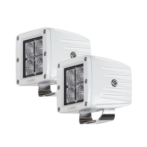 "HEISE 4 LED Marine Cube Light w/Harness - 3"" - 2 Pack"