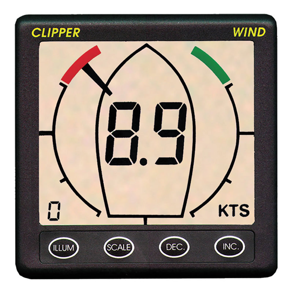 Clipper Tactical True Apparent Wind Display Repeater