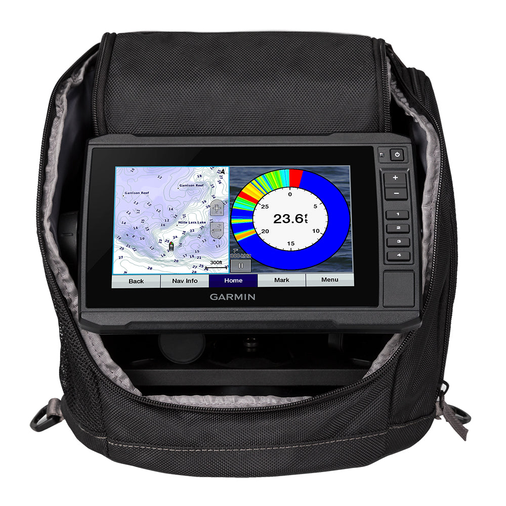 Garmin ECHOMAP™ Plus 73cv Ice Fishing Bundle