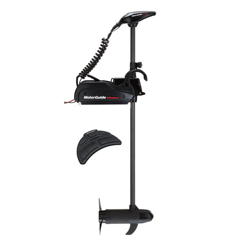 "MotorGuide Wireless W75 Freshwater Bow Mount Trolling Motor - Wireless Foot Pedal - 12V-75lb-60"" w/Marinco Plug"