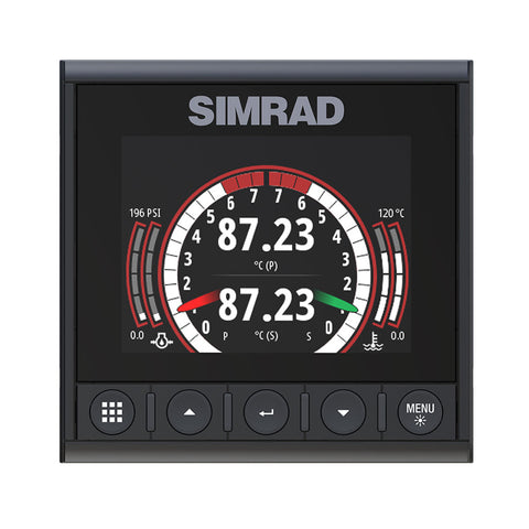 Simrad IS42J Instrument Links J1939 Diesel Engines to NMEA 2000® Network