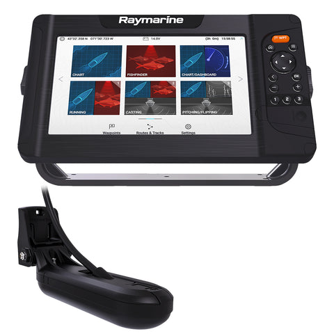 Element™ 9 HV Combo w/HV-100 Transducer & Nav+ Central & South America Chart