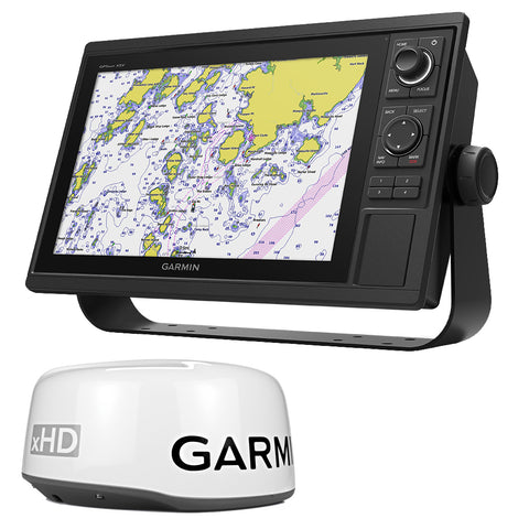 Garmin GPSMAP® 1242xsv Keyed Networking Combo - No Transducer w/GMR 18XHD Bundle