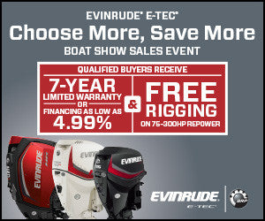 Evinrude Boat Show Sales Event