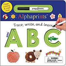 Alphaprints ABC Trace Write & Learn Book