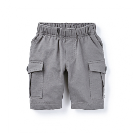 Tea Collection French Terry Cargo Shorts, Thunder