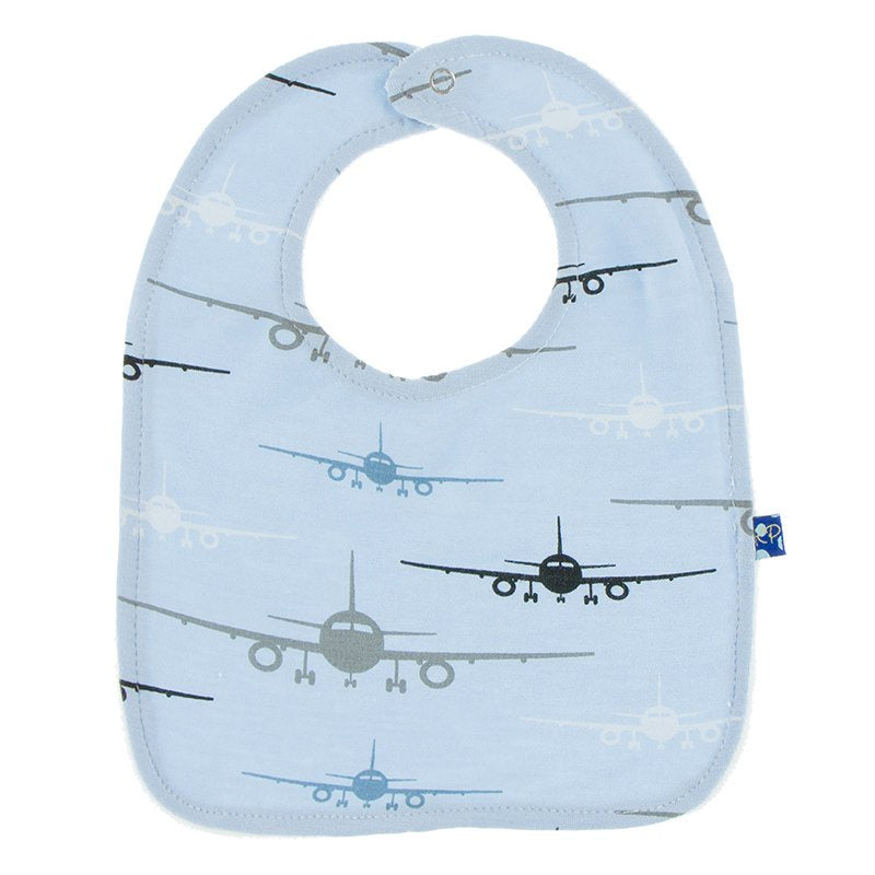 Pond Airplanes Bib